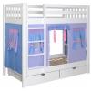 Кровать Зазеркалье - 2х-ярусная игровая кровать
